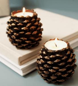 decorar con piñas
