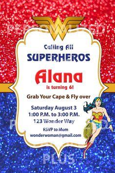 Cumpleaños de Wonderwoman